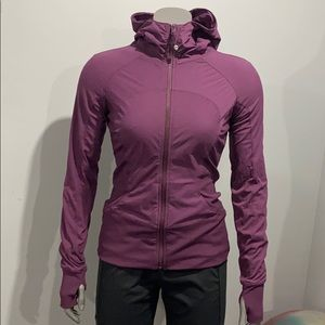 Lululemon In Flux jacket size 6 reversible.
